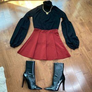 Zara mini skater skirt